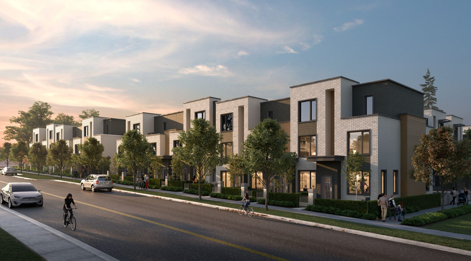 52 Larger-Than-Life Passive House Townhomes in West Coquitlam.